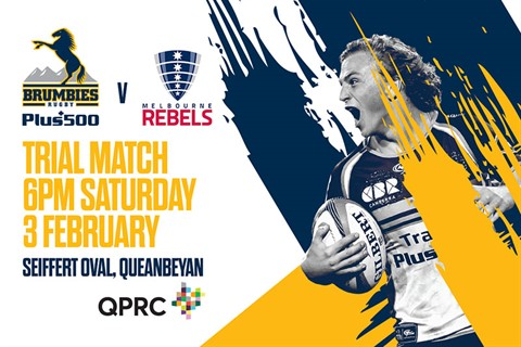 Brumbies Trial Match 3 February 2018