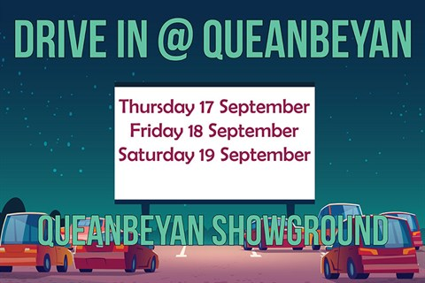 Drive In at Queanbeyan graphic