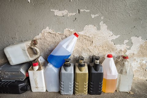 Image of household chemicals