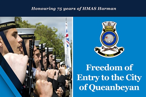 The Freedom of Entry march will be held in Queanbeyan on 1 July 2018