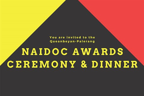 NAIDOC awards ceremony 2019 poster