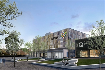 Concept drawing of Queanbeyan Head Office and Smart Hub building