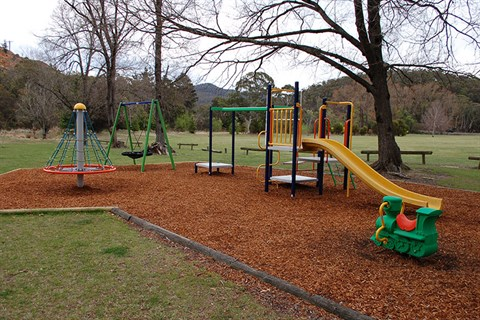 Upgraded playground facilities Captains Flat