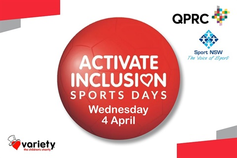 Activate Inclusion Sports Day - Wed 4 April 2018