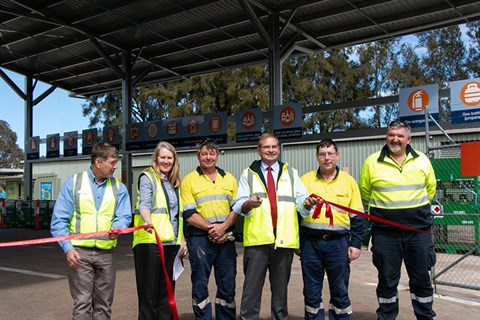 Official opening of the Queanbeyan Community Recycling Centre