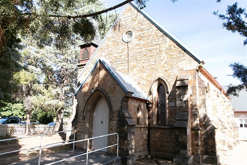 Photo of St Stephen's Presbyterian Church in Queanbeyan