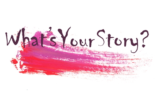 What's Your Story graphic
