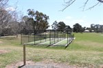 Allan McGrath Oval showing cricket nets