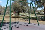Allan McGrath Park in Jerrabomberra showing playground equipment