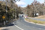 Images shows Old Cooma Road and area where duplication will take place