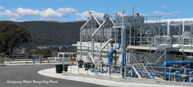 Image of Googong Water Recycling Plant